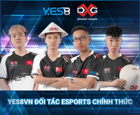 Team DivisionX Gaming, đội tuyển được Yes8vn tài trợ, vô địch PCS APAC Charity Showdown