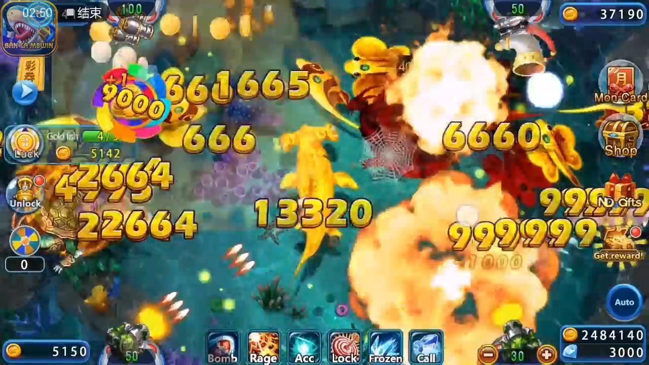 Bom nổ, vũ khí có sức mạnh lớn nhất trong game bắn cá đổi thưởng