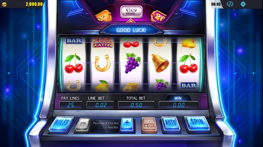 Quy trình cụ thể để chơi slot game online