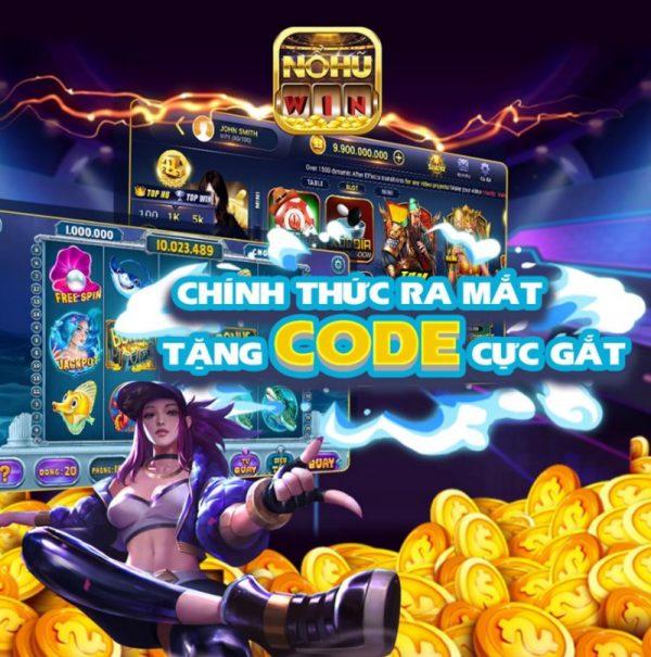 Top 8 game nổ hũ tặng code hot nhất hiện nay