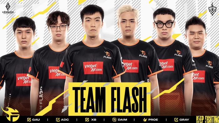 Team Flash cùng sự bùng nổ kinh ngạc vào năm 2019