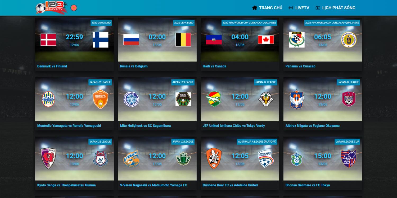 Xem cả Euro 2020 lẫn Copa America 2021 hoàn toàn miễn phí tại 123live.tv