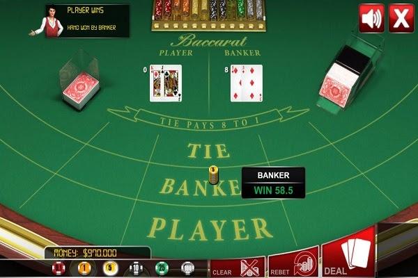 Luật chơi bài Baccarat căn bản sẽ có 4 bước: đặt cược, chia bài, rút bài và so điểm
