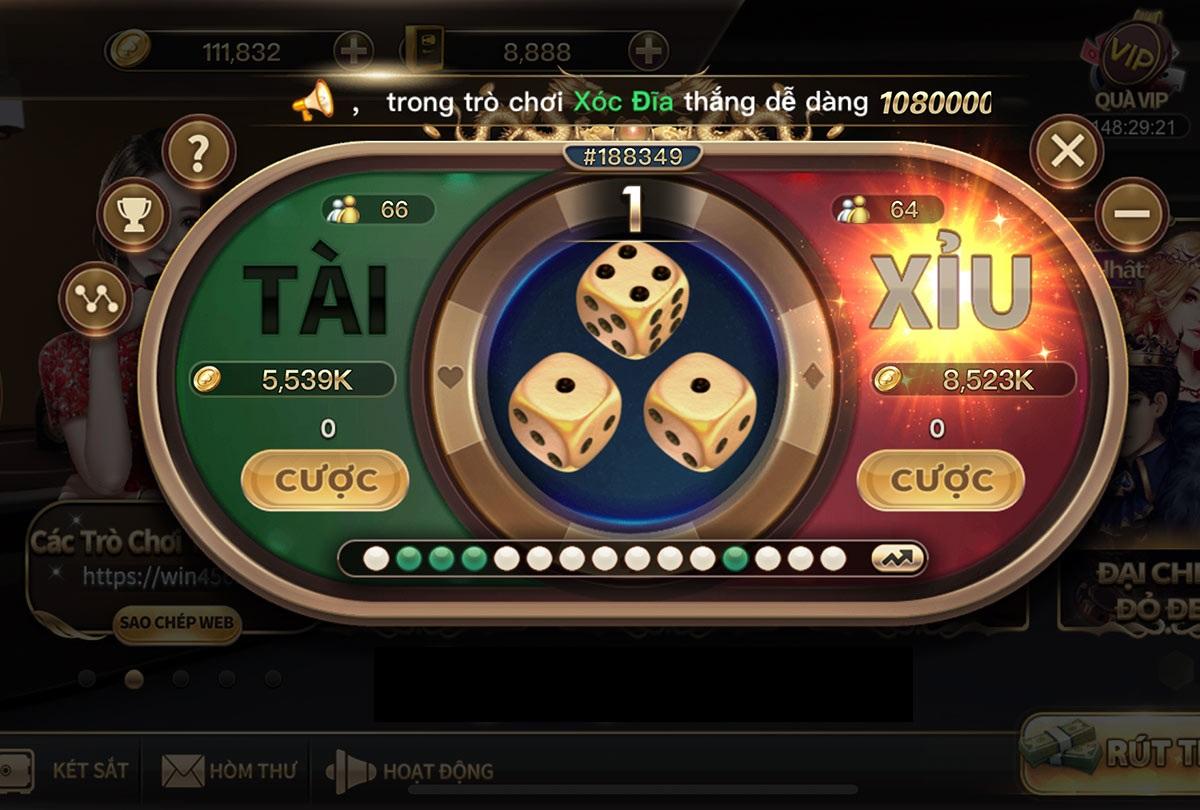 Ưu tiên cược cửa Tài Xỉu, chiến thuật chơi tài xỉu online đảm bảo tỷ lệ thắng cao