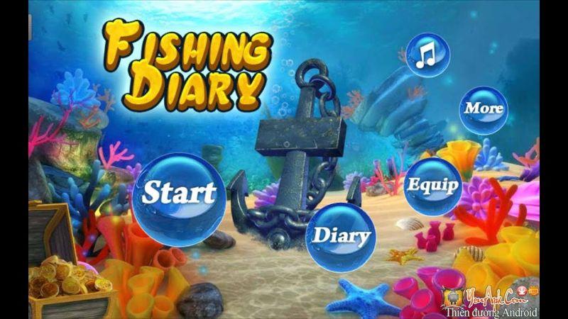 Hack bắn cá phiên bản Fishing diary