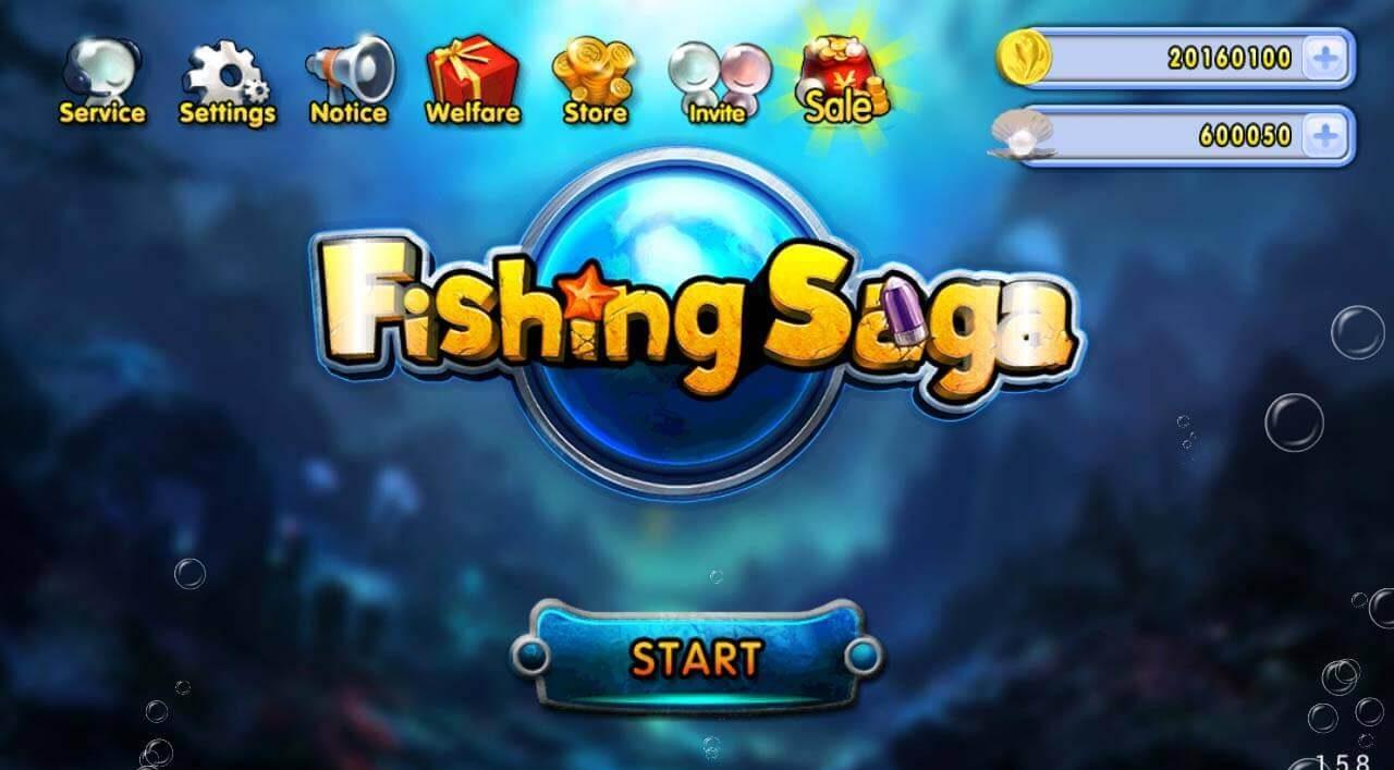 Hack game bắn cá online phiên bản Fishing saga online mod
