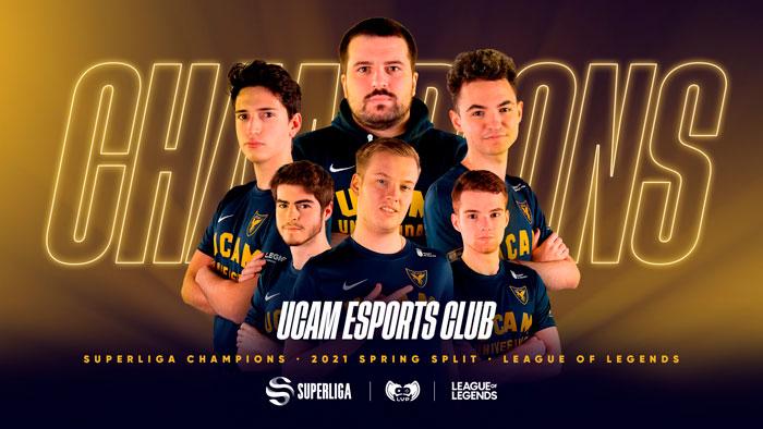 UCAM Esports, đội tuyển Tây Ban Nha bất bại mà bạn nên chọn khi cá cược Liên minh huyền thoại