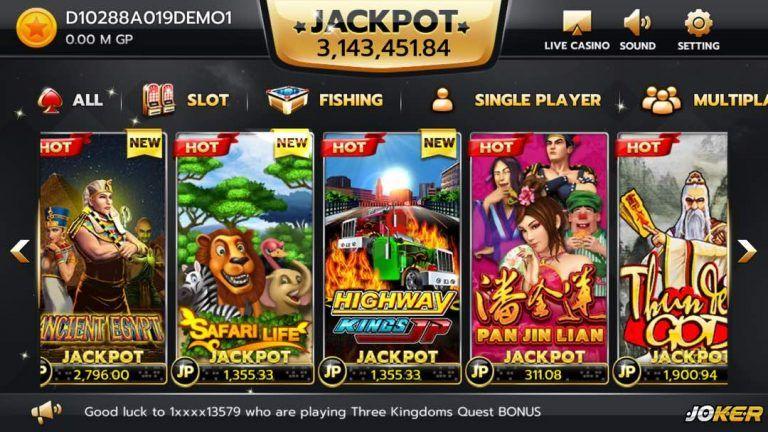 Slot game, đơn giản lại còn dễ trúng