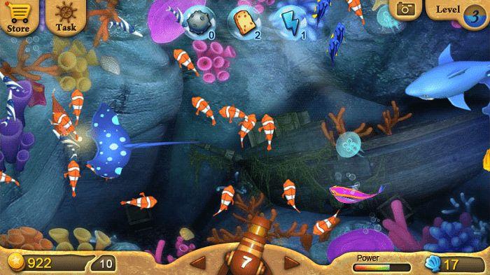 Quan sát kỹ tốc độ di chuyển của những chú cá trong game bắn cá kiếm tiền online