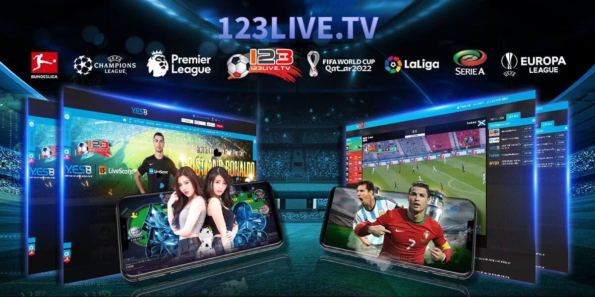 123live.tv, trang web xem bóng đá online miễn phí, chất lượng cao nhất hiện nay