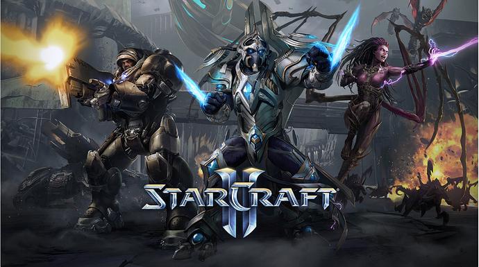 Starcraft II, dòng game huyền thoại