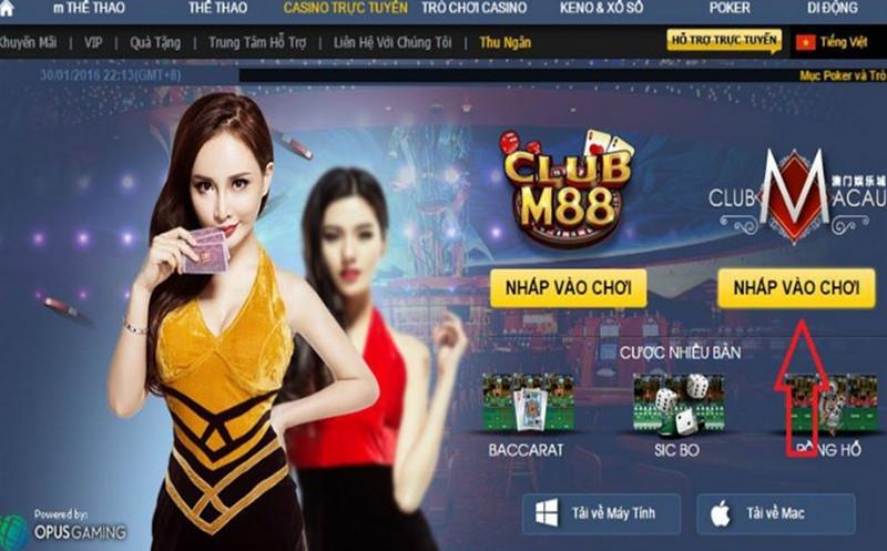 Link đăng nhập M88 mới