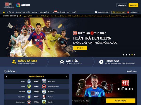 Đánh giá nhanh M88 casino – Sòng bài trực tuyến hàng đầu Việt Nam
