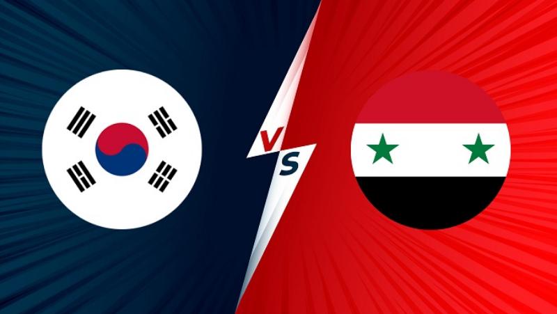 soi kèo Hàn Quốc – Syria